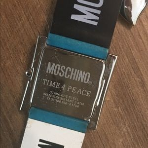 "Moschino Accessories - Moschino ""TIME 4 PEACE "" Women's Charm Watch"